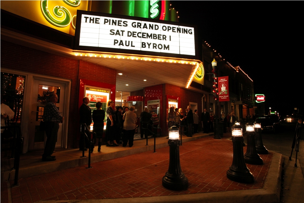 The Pines Theater Grand Re-Opening