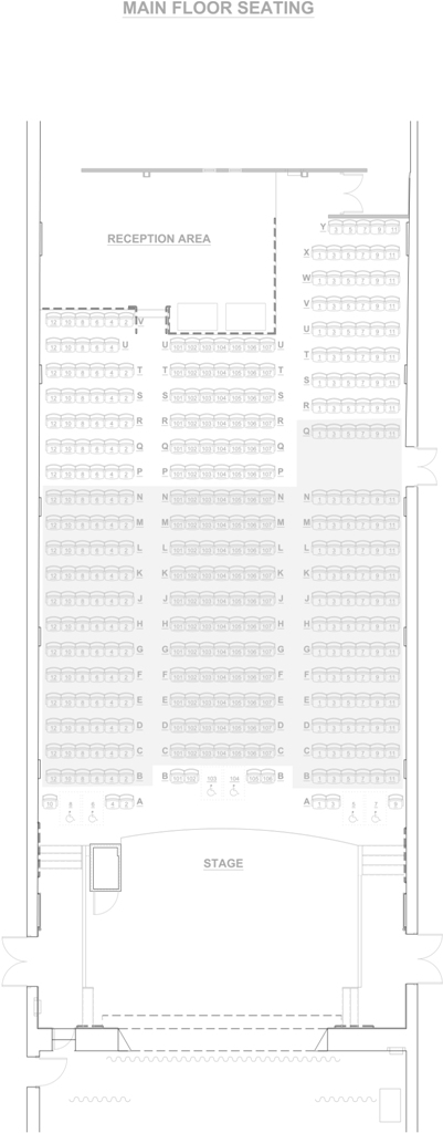 Floor Seating Chart